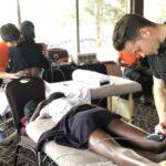 Tratamiento a atleta profesional con tecar
