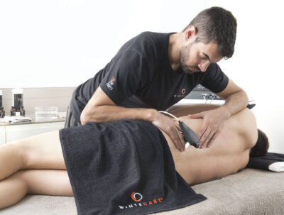 Lower back pain and tecar