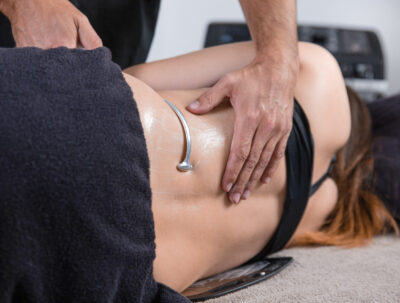 Diathermic fibrolysis in case of lower back pain