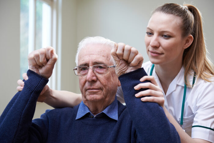 elderly motor recovery