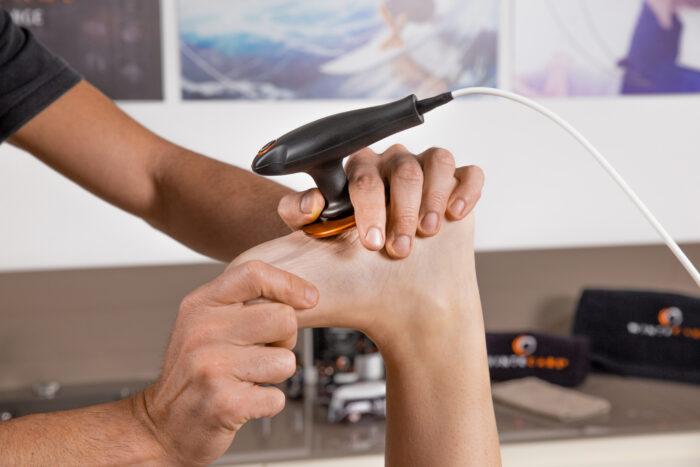 esguince de tobillo y abordaje terapéutico con tecar