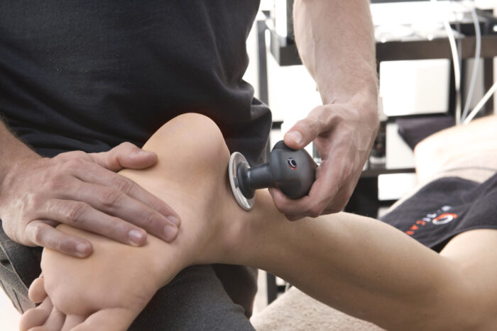 sprained ankle and therapeutic approach with tecar